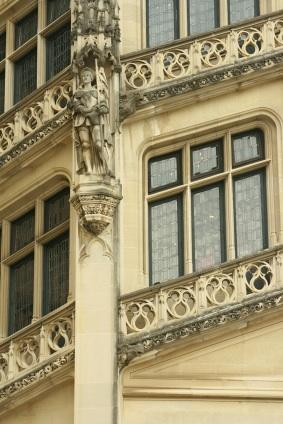 Close-up of Biltmore Estate Architecture