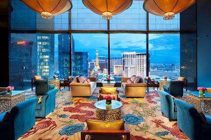 Tea Lounge at the Mandarin Oriental hotel