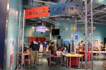 Discovery Children's Museum Las Vegas Patents Pending exhibit