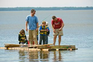 The Tyler Place Family Resort fishing