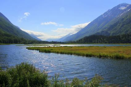 Breathtaking Alaskan landscape