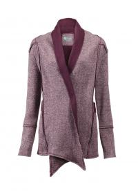 BLOOM Raw Edge Yoga Cardigan