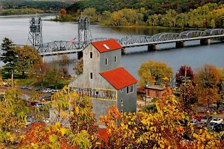 Stillwater and bridge over St. Croix River