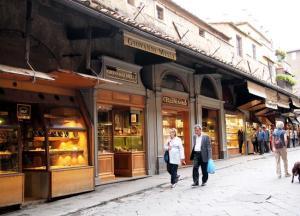 Pedestrians in Florence