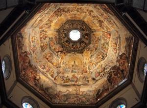 The Duomo's ceiling