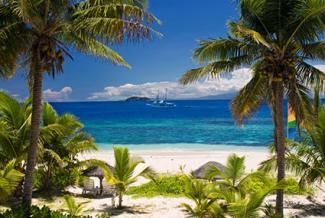Mamanuca Island beach