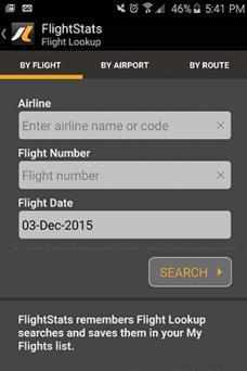 FlightStats App