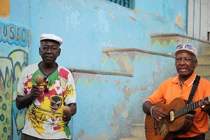 Musicians in Santiago de Cuba