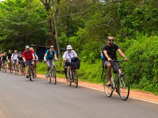 Bike tour in Anuradhapura, Sri Lanka