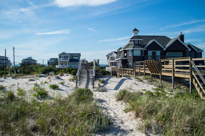 Beach houses in the Hamptons