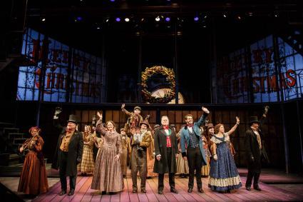 The Cast of Geva Theatre Center's A Christmas Carol