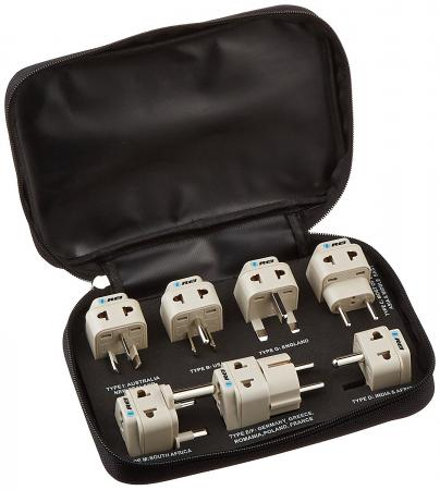 Orei 7 Travel Adapter Set