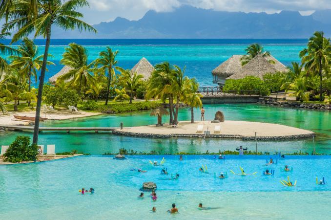 Tahiti-Moorea view