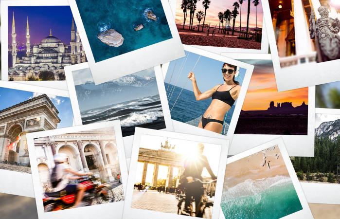Camera prints of an year full of memories around the world