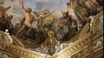 Sistine Chapel ceiling painting Michaelangelo