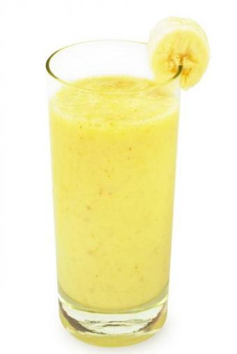 banana nut protein smoothie