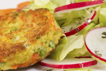 Vegetable burger