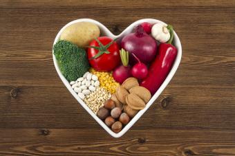 heart healthy vegetarian food
