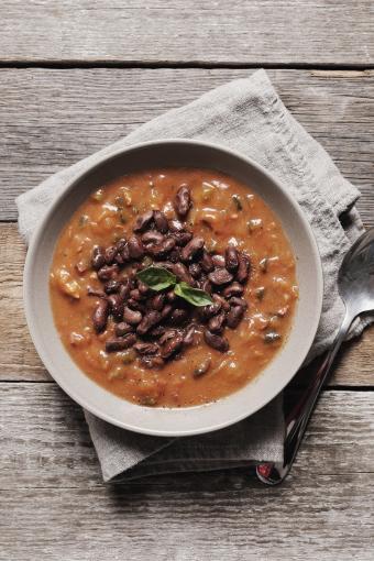 One pot bean dish
