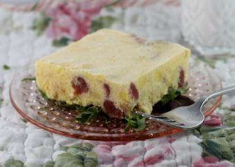 Frozen Raspberry Lemon Salad