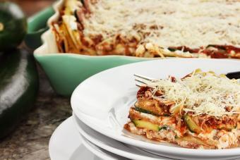 Vegan Lasagna Recipe With Zucchini and Tofu
