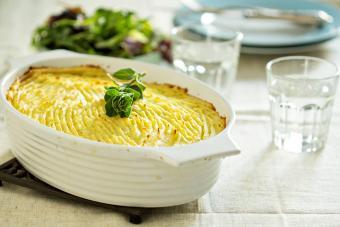Vegan Shepherd's Pie Recipe With Eggplant