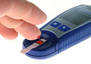 Diabetic test kit