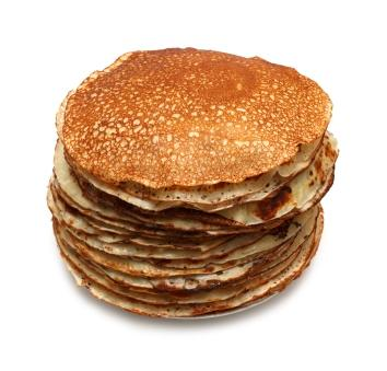 Delicious pancakes without eggs