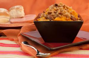 Sweet potato casserole.