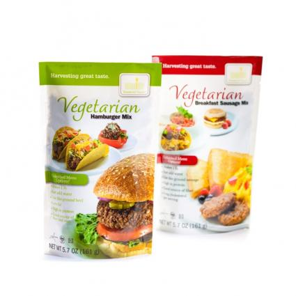 Harmony Valley vegetarian mix products