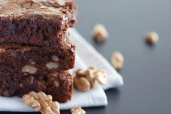 brownies with nuts