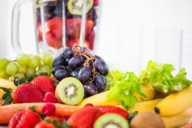 Juicing fruits and veggies