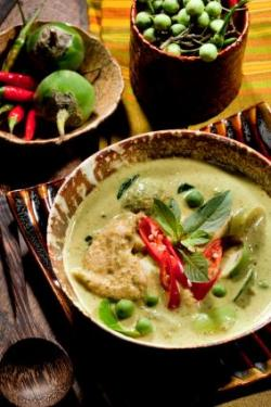Thai Green Curry with TVP