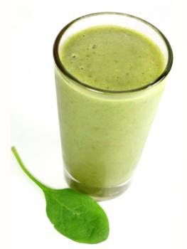 Spinach and Yogurt Smoothie