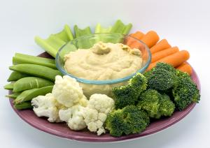 Hummus and Veggies
