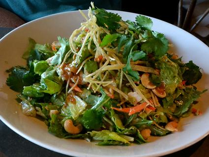 Chicken Free Asian Salad