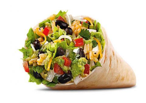 Art Vandalay vegetarian burrito