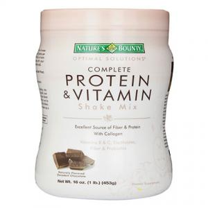 Nature's Bounty Protein Shake Mix in Decadent Chocolate