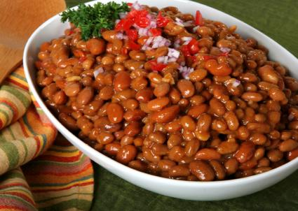 Sweet and spicy beans