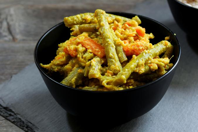 Aviyal vegetable dish