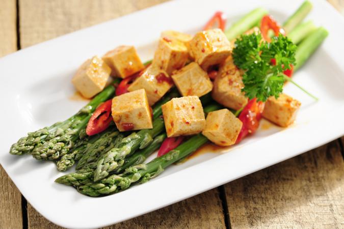 Asparagus and Tofu