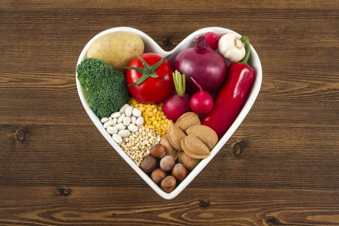 heart healthy vegetarian food