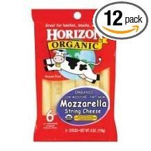 Horizon Organic Mozzarella String Cheese