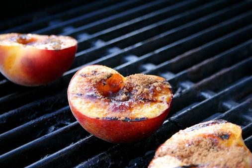 Grilled Spiced Peaches