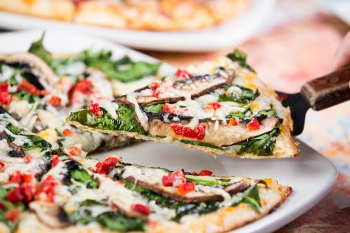 Grilled Vegan Tofu Pizza