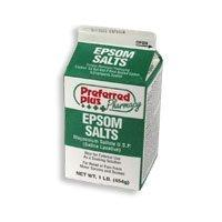 Epsom salts sooths aches and can help improve your mood.