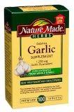 Nature Made Herbs Odorless Garlic Supplement Tablets
