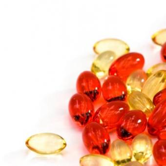 red and yellow gelcaps