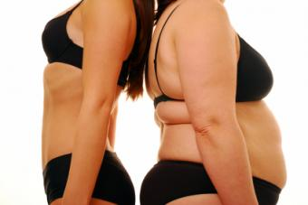 Two Women Different Body Shapes