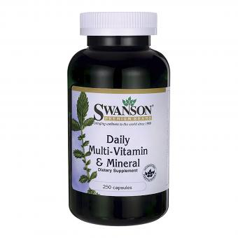 Swanson Daily Multivitamin & Mineral